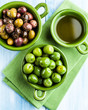 Different Types of Olives and Olive Oil