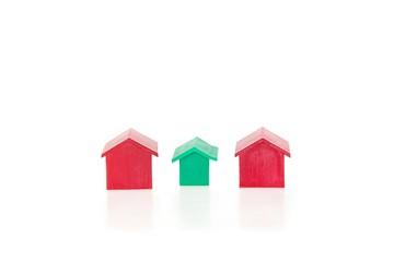 großes und kleines Haus