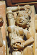 Khajuraho, Madhya, Pradesh, i templi dell'amore, India