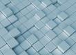 Abstract digital 3d blocks background
