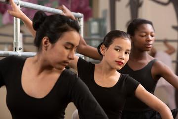 Serious Young Ballerinas