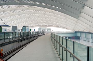 Beijing airport terminal, fast-iron site