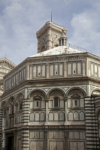The baptistery of the cathedral
