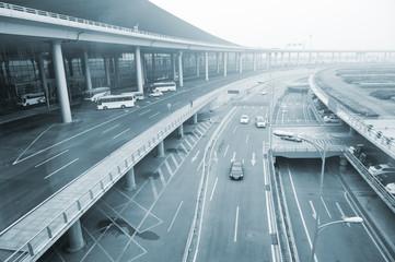 Beijing airport terminal,