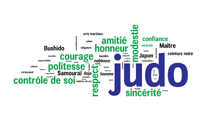 WEB ART DESIGN TAG CLOUD JUDO ARTS MARTIAUX 002