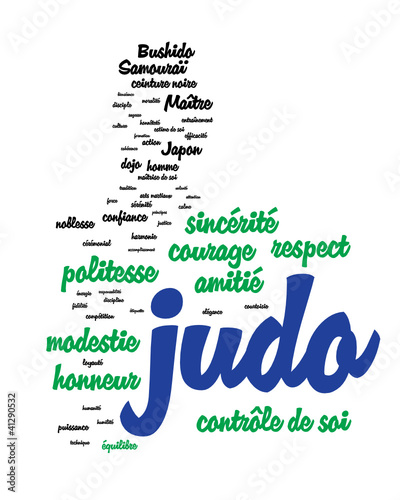 WEB ART DESIGN TAG CLOUD JUDO ARTS MARTIAUX 001