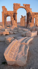 Arco monumental de Palmira, Syria
