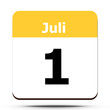 Kalender - Juli 1