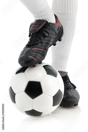 Fußball Pose