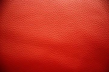 Rot gefärbtes Leder