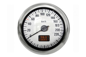 Chrome speedometer