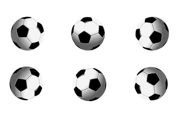 Soccer Ball positions (3D)
