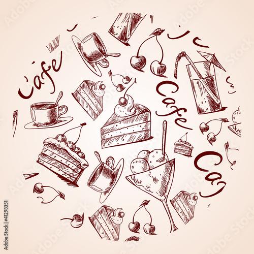 Coffe seamlessCoffe seamless pattern. stylish pattern. stylish