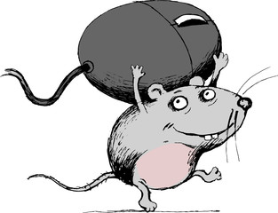 cartoon two mouse