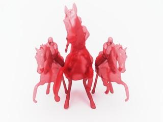 cavalli rossi purosangue