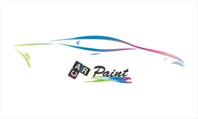 car paint company vector