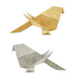 Origami Bird  Recycle Papercraft