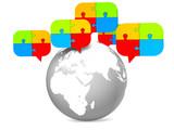 communication global