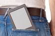e-Reader,  ebook steckt lässig in der Hosentasche