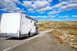 Camper traveling