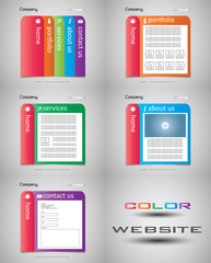 Colored Website