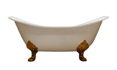 Luxury vintage bathtub