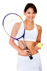 Female tennnis player