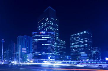 Hi-rise building  in Seoul, Korea.