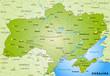 Übersichtskarte der Ukraine