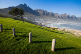 Camps Bay Hillside with Posts
