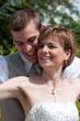 Jeunes mariés heureux - LO
