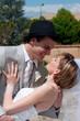 Jeunes mariés qui dansent - LO