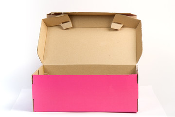 solated Pink Box