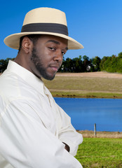 Black Man in Fedora