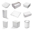 blank white box container - 41313789