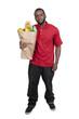 Man Grocery Shopping