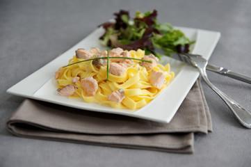 tagliatelles saumon 7