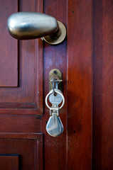 Wood door key color image