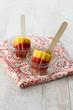 Strawberry and mango icecream