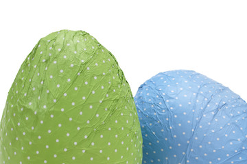 Dotted Easter Eggs