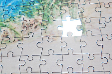 Empty space in the puzzle. Unfinished Business.