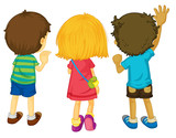 Fototapety 3 kids