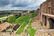 Roma, rovine del collePalatino - palazzi imperiali