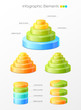 Set of vector infographic elements