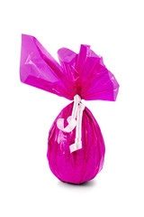 Pink Chocolate Easter Egg