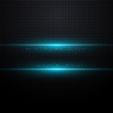 Fototapete Licht - Blau - Hintergrund