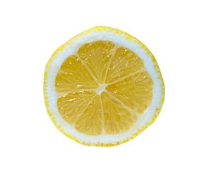 Scheibe einer Zitrone
