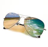 Fototapety occhiali spiaggia