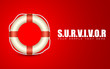 Lifebuoy on Survivor Background