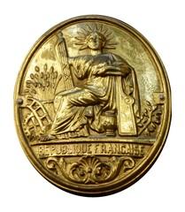 République française en or